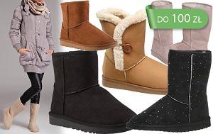 Buty w stylu Emu i Ugg do 100 zł