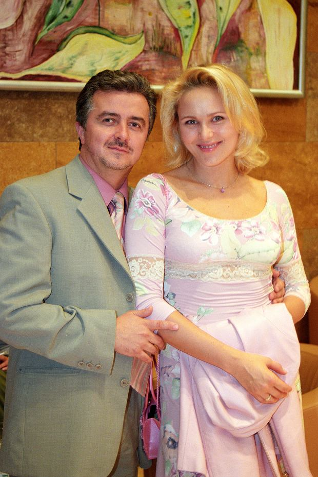 Anna Samusionek i Krzysztof Zuber, były mąż, 2004