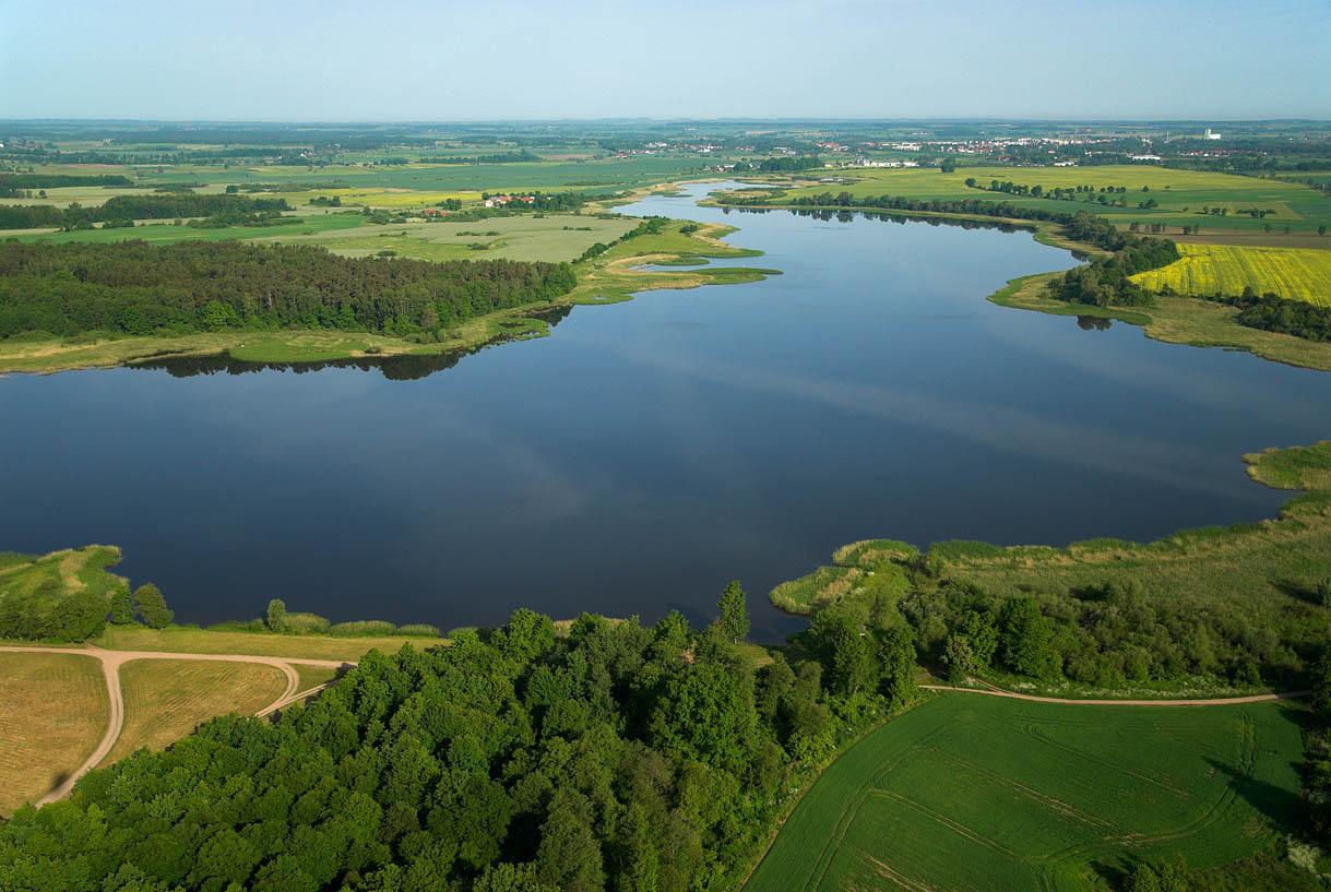 LOTNICZE. Warm-Maz. Jezioro Kinkajmskie.