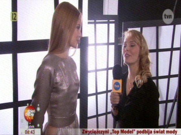 Olga Kaczyńska, Top Model. Zostań modelką, dzień dobry tvn