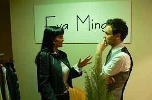 Iwona Pavlović w salonie Evy Minge