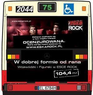 Kuba Wojewódzki,Michał Figurski w reklamie Eska Rock