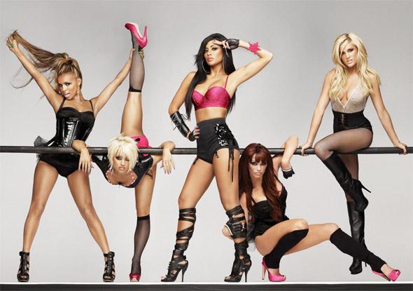 Pussycat Dolls reklamują bieliznę La Senza fot. East News