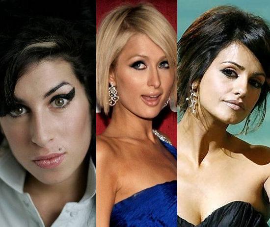 Amy Winehouse fot. Matt Dunham AP; Paris Hilton fot. REUTERS/Phil McCarten/AG; Monica Cruz fot. Daniel Ochoa De Olza AP