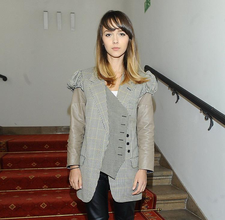 Monika Brodka na konferencji Francophonic Festival
