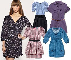 Sukienki poniżej 100zł, wiosna 2011