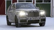 Prototyp Rolls-Royce Cullinan