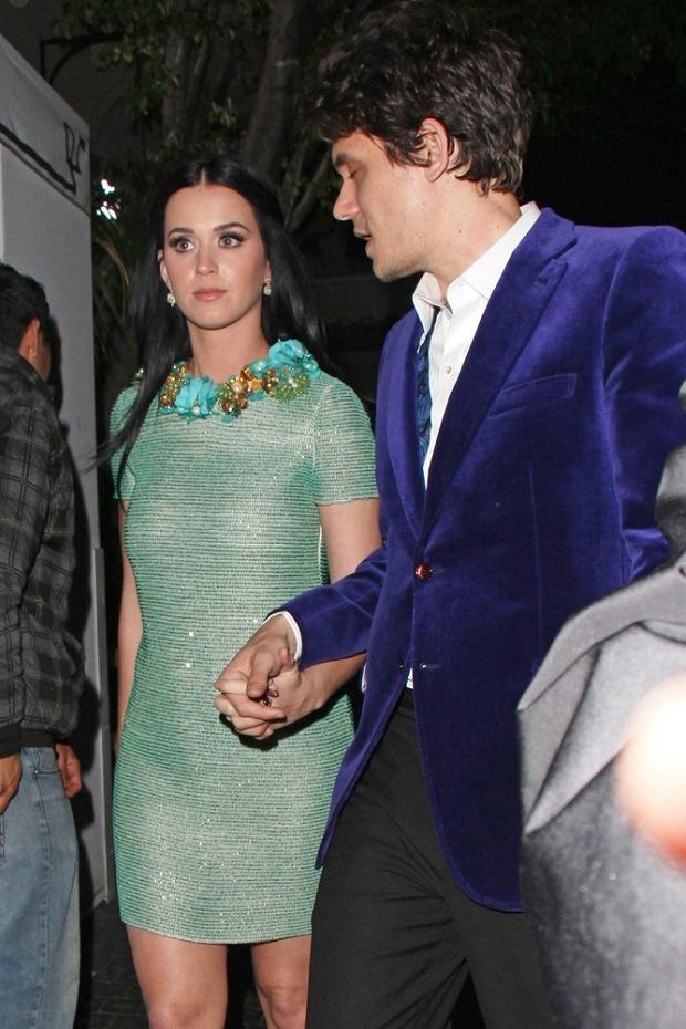 Kate Perry i John Mayer, afterparty po Grammy