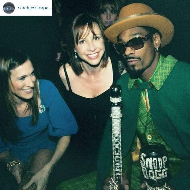 Sarah Jessica Parker i Snoop Dogg