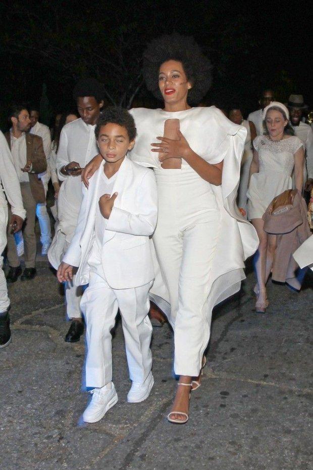 Solange Knowles z synem