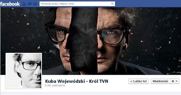 Kuba Wojewódzki, Facebook