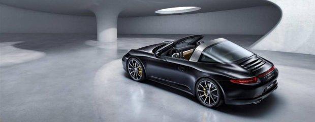 Salon Detroit 2014   Porsche 911 Targa   Wiatr dla dwojga