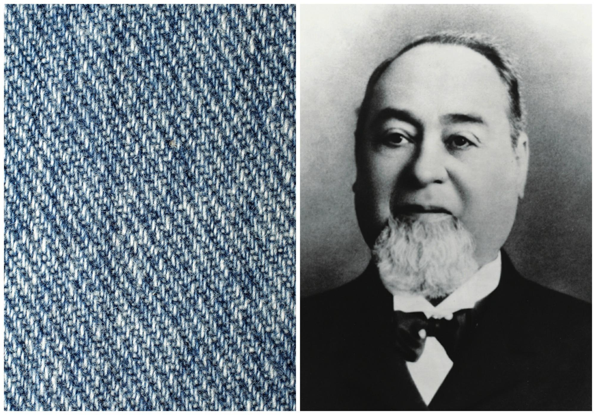 Levi Strauss do stworzenia jeansu wykorzystał tkaninę konopną (fot. Thegreenj / Wikimedia.org / CC BY-SA 3.0 / Wikimedia.org / Domena publiczna)