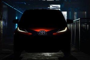 Toyota Aygo teaser