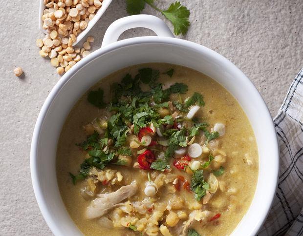 Rozgrzewająca zupa z kurczakiem