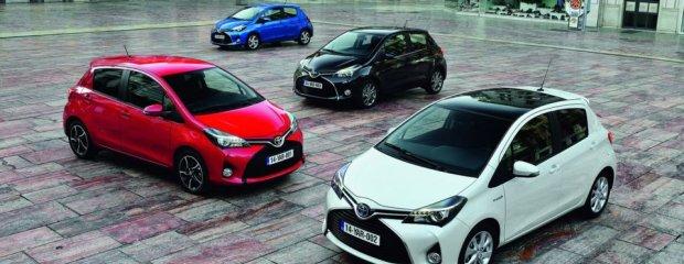Toyota Yaris po liftingu | W kierunku Aygo | Galeria