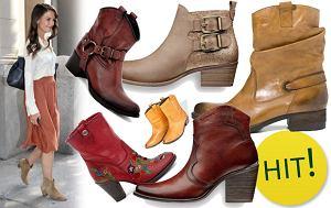 kowbojskie buty, botki, kowbojki