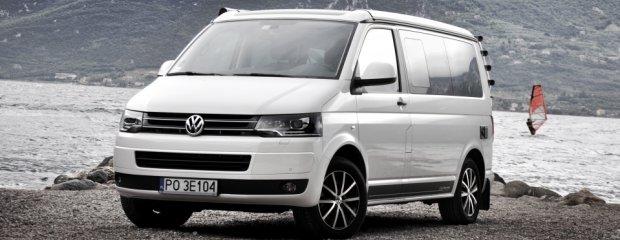 VW California | Pierwsza jazda | Crosscamper