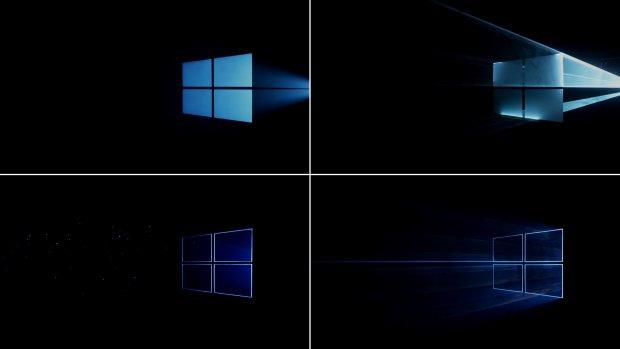 Windows 10 - próby dojścia do ostatecznego wyglądu tapety