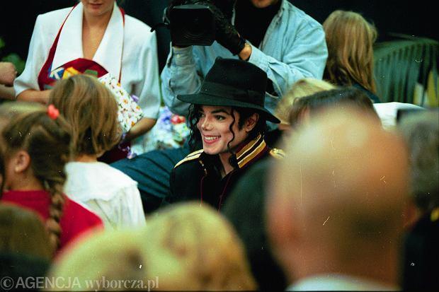Michael Jackson w Polsce.
