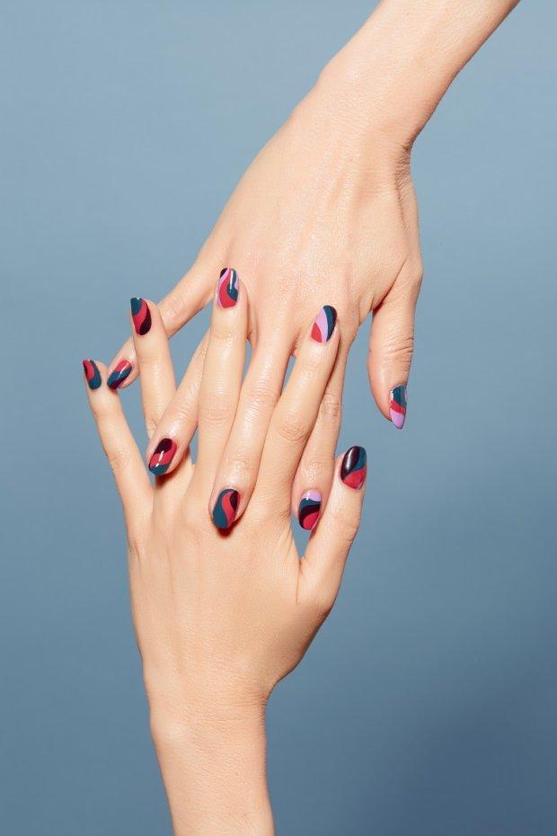 Complete Salon Manicure.