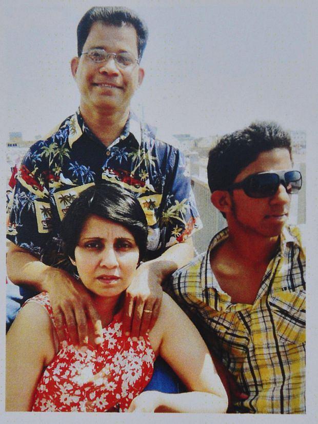 Jacintha Saldanha, mąż, Ben Barboza, syn Junal