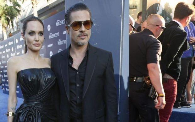 Angelina Jolie i Brad Pitt, Vitali Sediuk