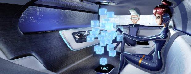 Mercedes Vision Tokio