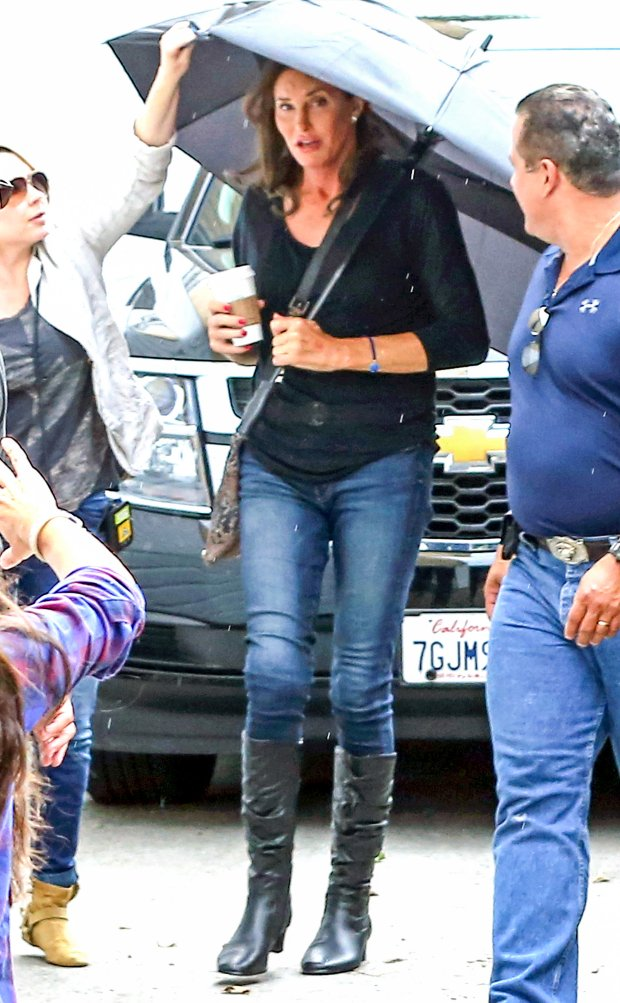 }MANDATORY BYLINE TO READ INFPhoto.com ONLYBR/ EXCLUSIVE: EXCLUSIVE TO INF. PREMIUM RATES APPLY. STRICTLY NO WEB USAGE BEFORE 3AM EST, JUNE 12 2015 June 9, 2015: Caitlyn Jenner, formerly known as Bruce Jenner, is seen filming her eight-part docuseries, I Am Cait, at the LGBT (Lesbian, Gay, Bi-sexual, Transgender) center in Hollywood, California. Caitlyn is seen for the first time wearing knee length boots, skinny jeans, red nail polish, and makeup while out in public. Mandatory Credit: Mariotto/Chiva/INFphoto.com Ref.: infusla-244/276 P Pictured: Caitlyn Jenner BRef: SPL1051372 110615 EXCLUSIVE/BBR/ Picture by: INFphoto.comBR/ /PP