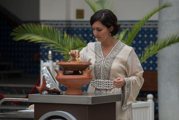 MasterChef II Edycja 2013r, Tanger, Maroco, Go?? specjalny: Alia Al Kasimi, fot: TVN / Jacek Wrzesi?ski