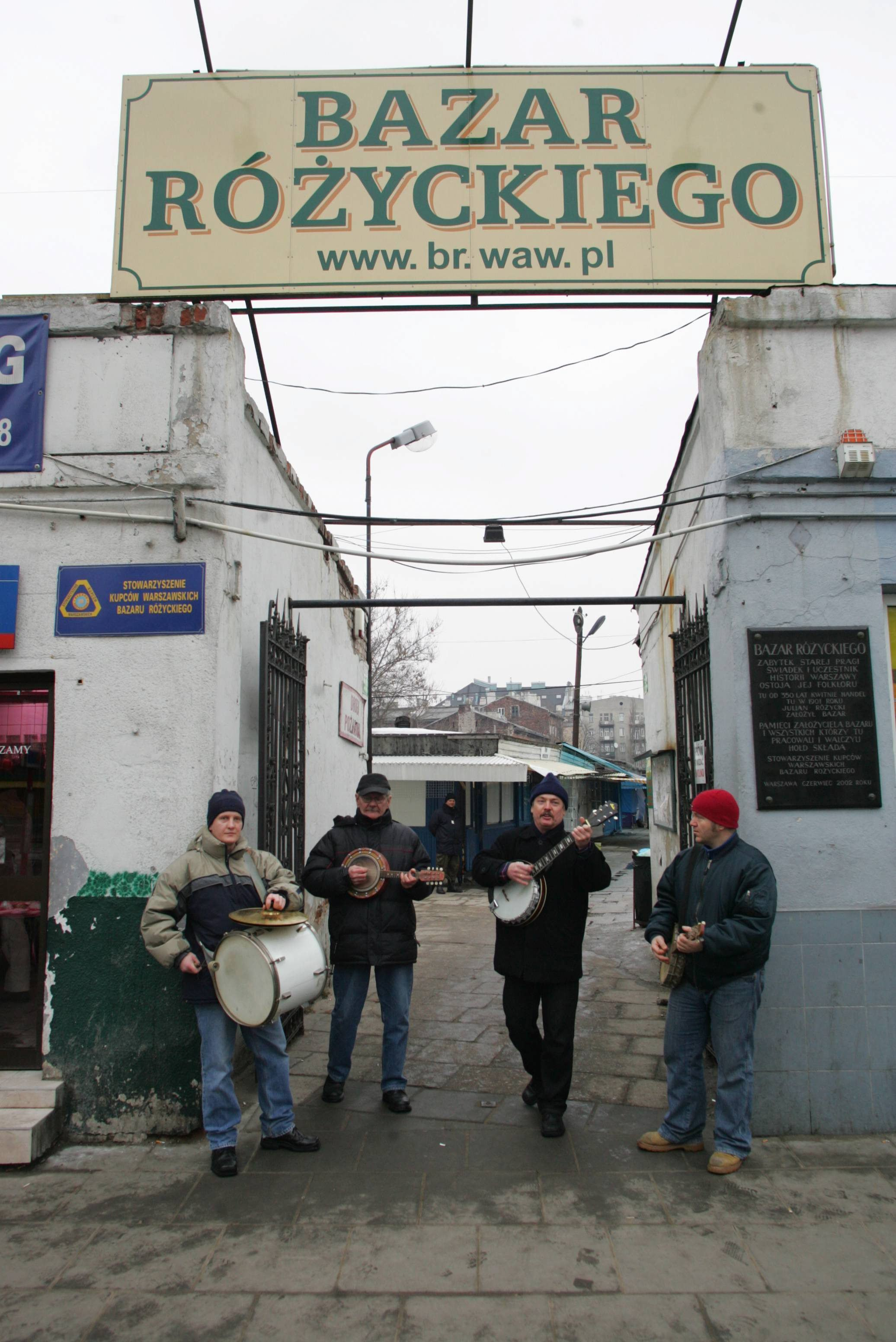 Próba zespołu Kapela Bazar Różyckiego (fot. Albert Zawada / Agencja Gazeta)