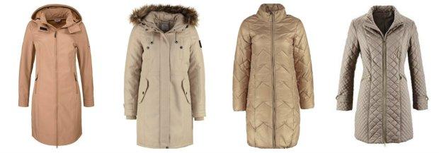 Puchowe płaszcze do 250 zł