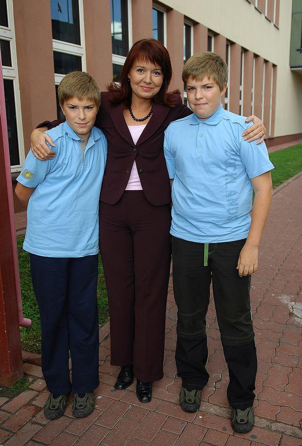 Q  Julian, Danuta Holecka, Stefan , syn synowie dzieci rodzina dziecko  2007-09-09