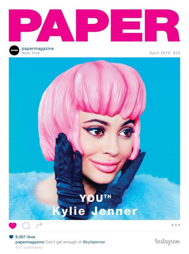 Kylie Jenner na okładce magazynu