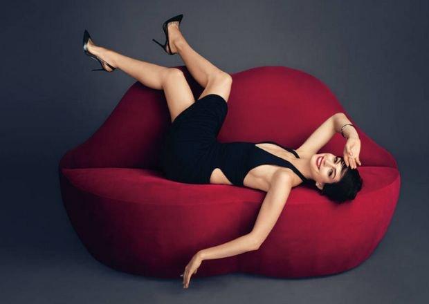 Magazyn Harper's Bazaar z Anne Hathaway