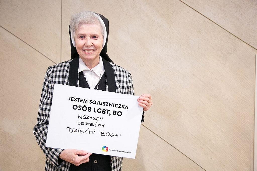 Siostra Jeannine Gramick (fot. Agata Kubis)