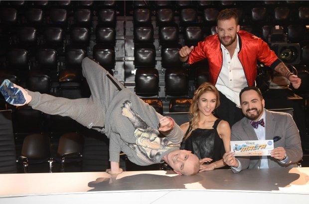 You Can Dance casting, 07.01.2016, fot.WBF/Cezary Piwowarski, na zdj. Ida Nowakowska, Agustin Egurrola, Maciej Florek, Michal Pirog