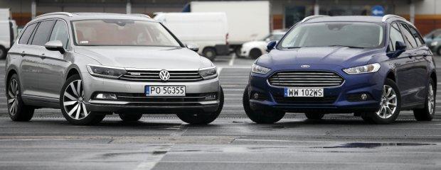 Konfrontacja | Ford Mondeo vs. Volkswagen Passat | Dogonić królika