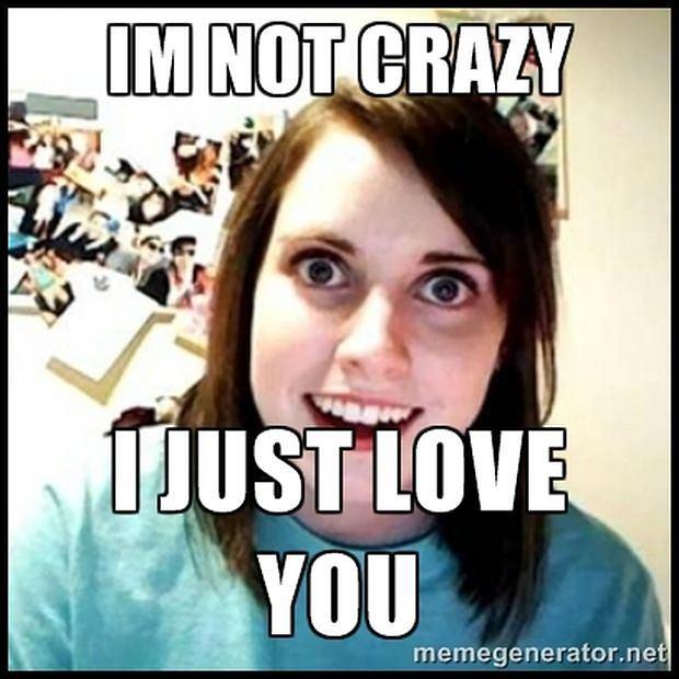 Ona nie jest szalona, ona po prostu go kocha