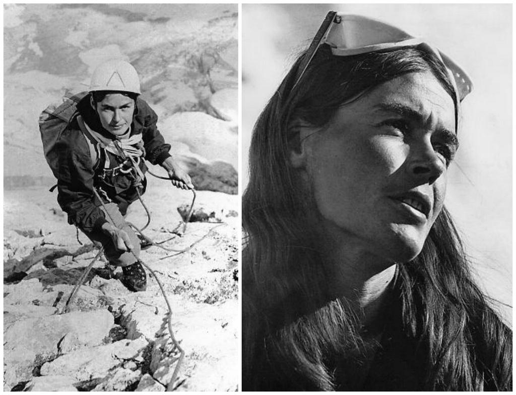 Po lewej: W Pirenejach, 1969 r. Po prawej: W Karakorum, 1975 r. (fot. Zbiory Muzeum Sportu i Turystyki / Ewa Abgarowicz)