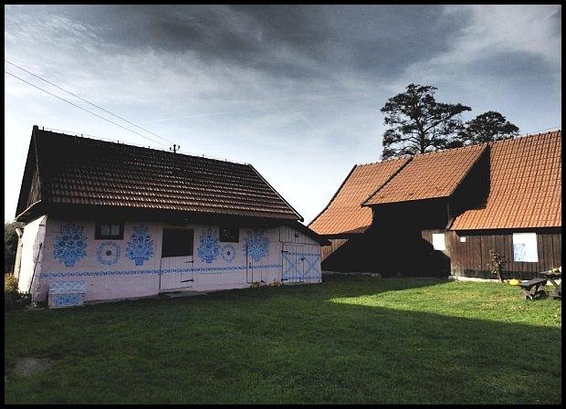 Zagroda Felicji Curyłowej w Zalipiu. Obecnie filia Muzeum Okręgowego w Tarnowie/fot. Inaa