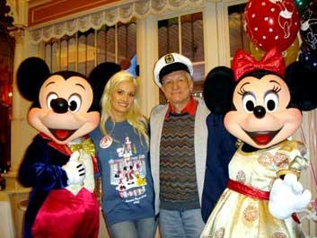 Holly Madison i Hugh Hefner