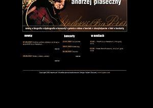 Strona internetowa Andrzeja Piasecznego
