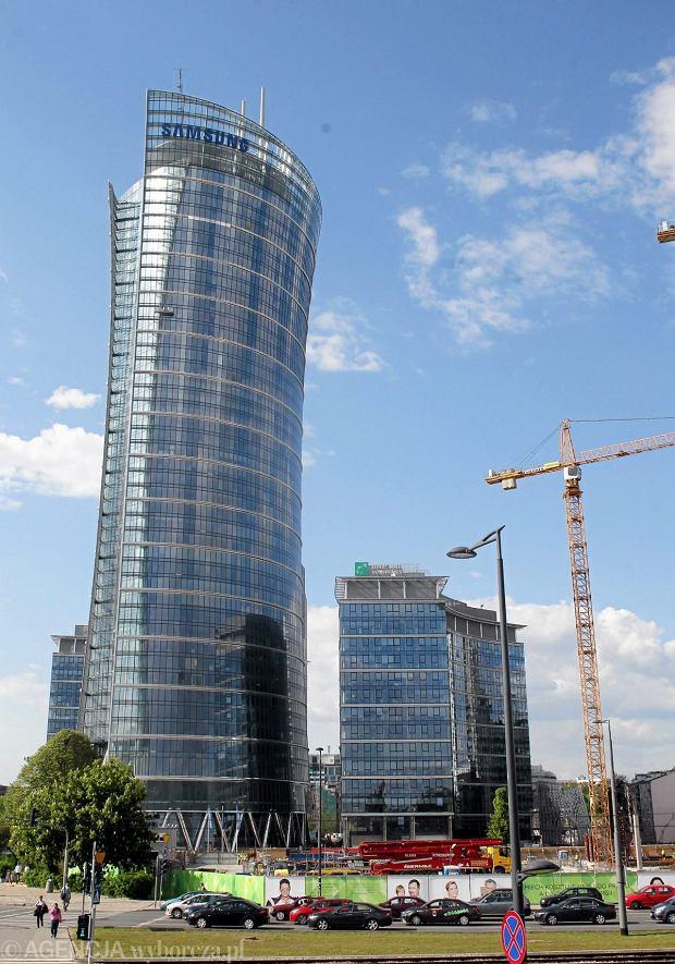 Warsaw Spire - zdjęcie zrobione tydzień temu