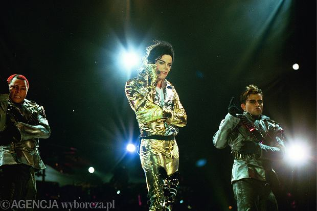 Koncert Michaela Jacksona na Bemowie