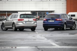 Ford Mondeo vs. Volkswagen Passat