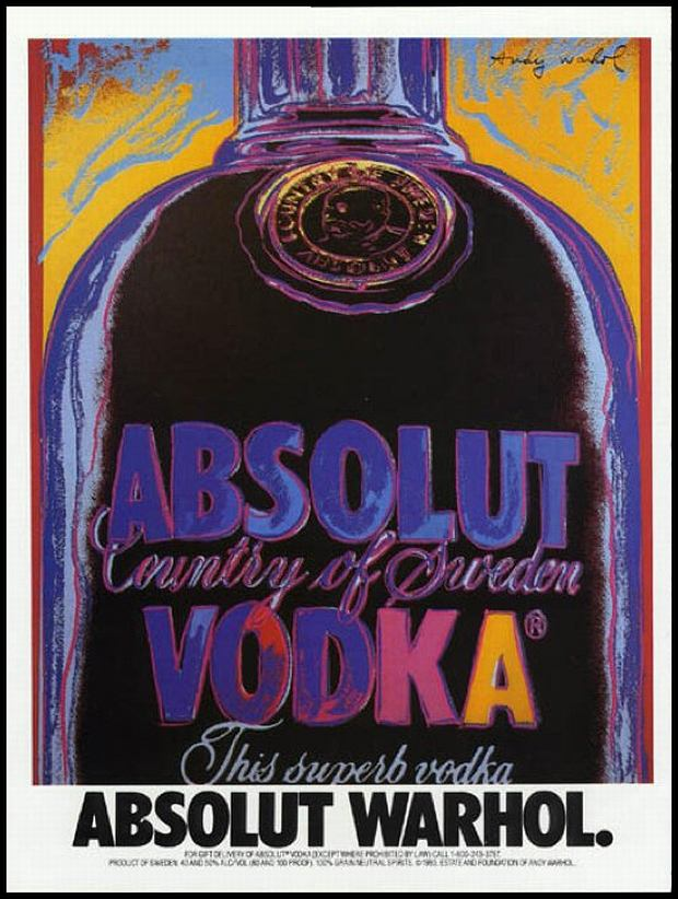 Absolut - Andy Warhol