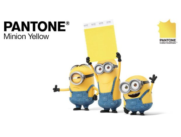Minion Yellow wg Pantone