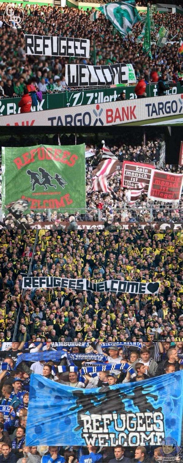 Uchodźcy witajcie
