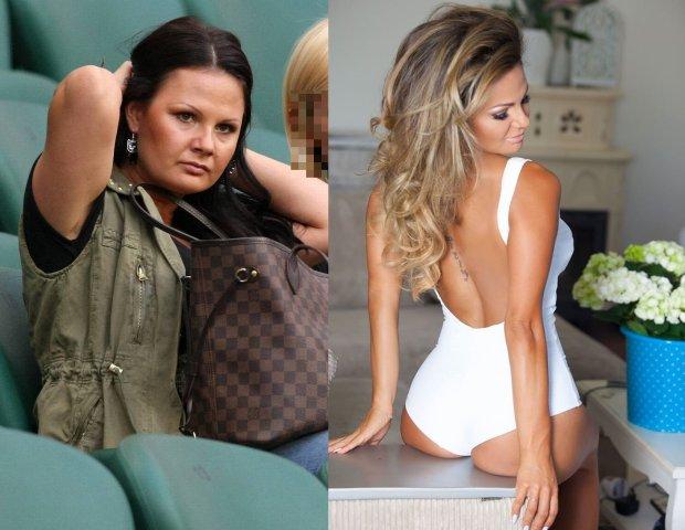 Kamila Saganowska we wrześniu 2012 roku roku i w czerwcu 2015 roku